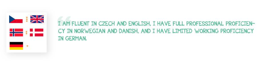 Translator Interview Languages