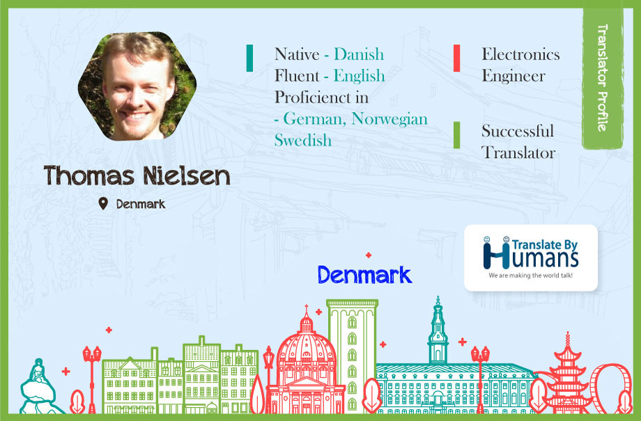 Thomas Nielsen translator Infographic