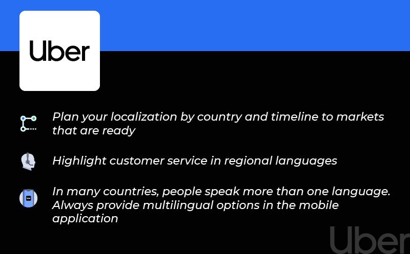 Multilingual Customer Service Uber
