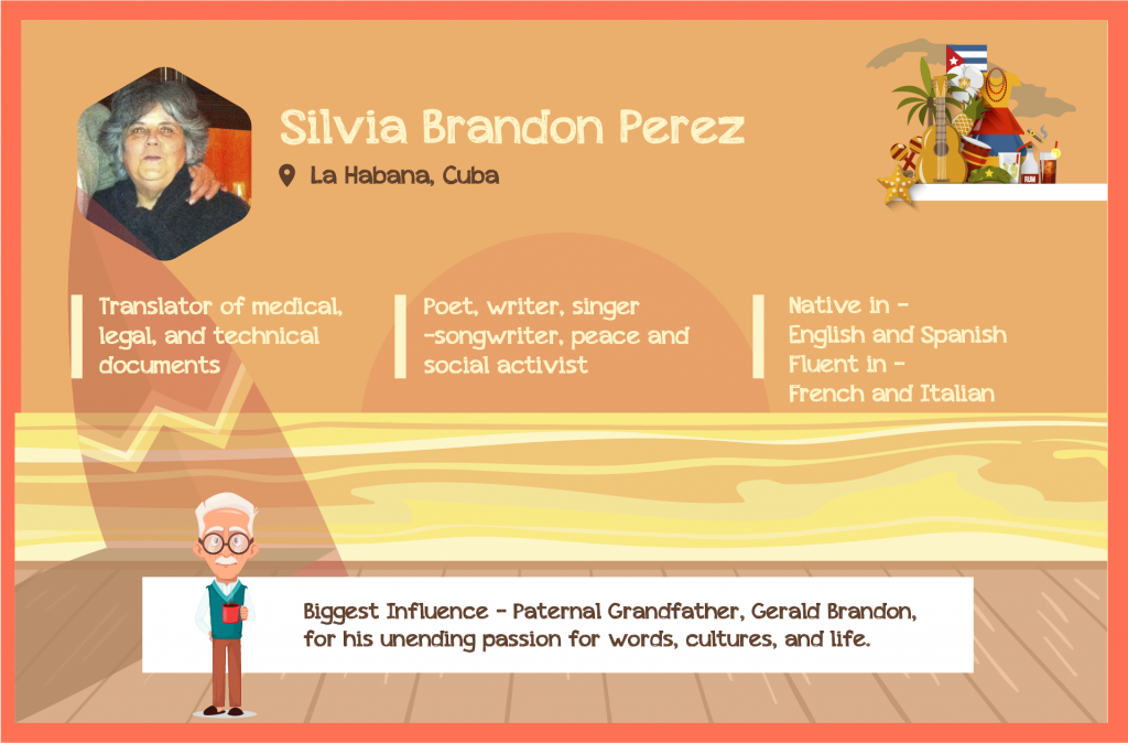 About Silvia Brandon Perez