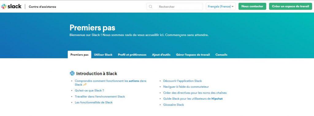Slack French Help Center