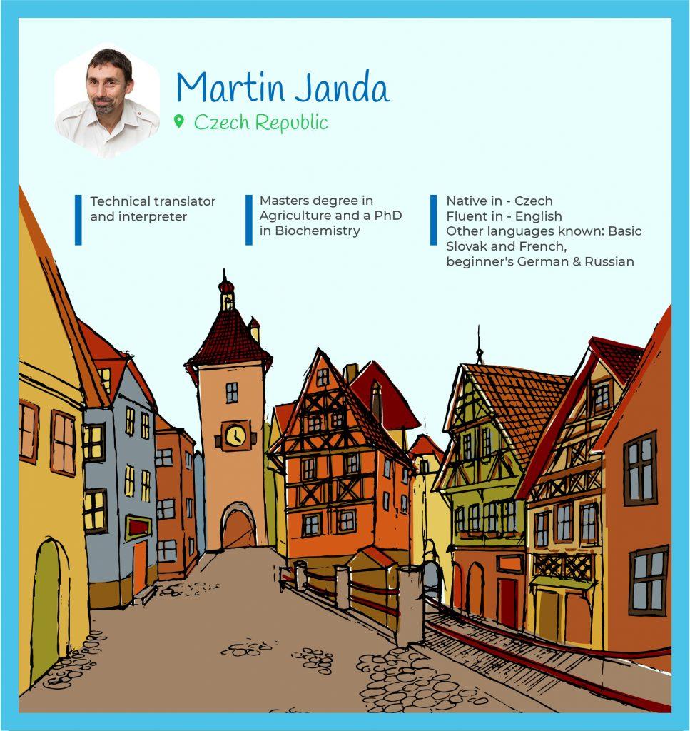 Martin Janda Czech Translator