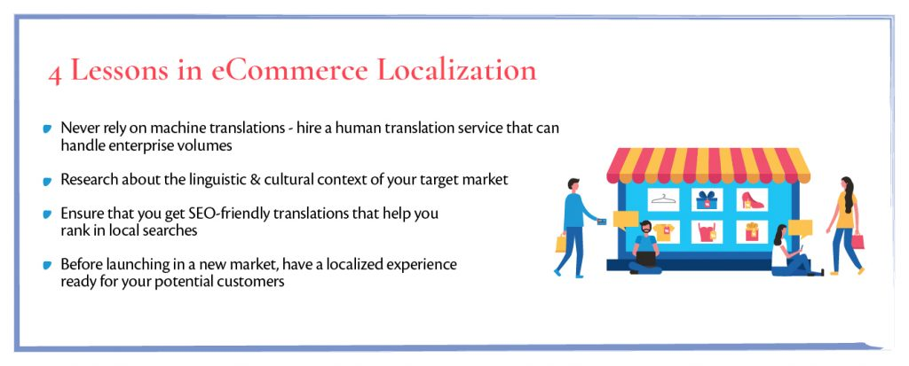 Lessons in Ecommerce Localization
