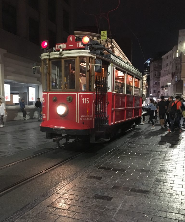 Istiklal Street Tram