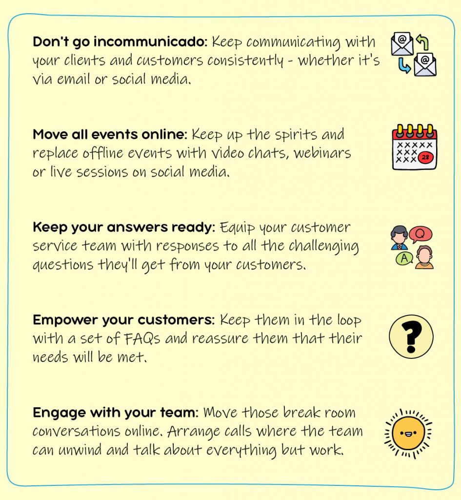 COVID19 Business Tips
