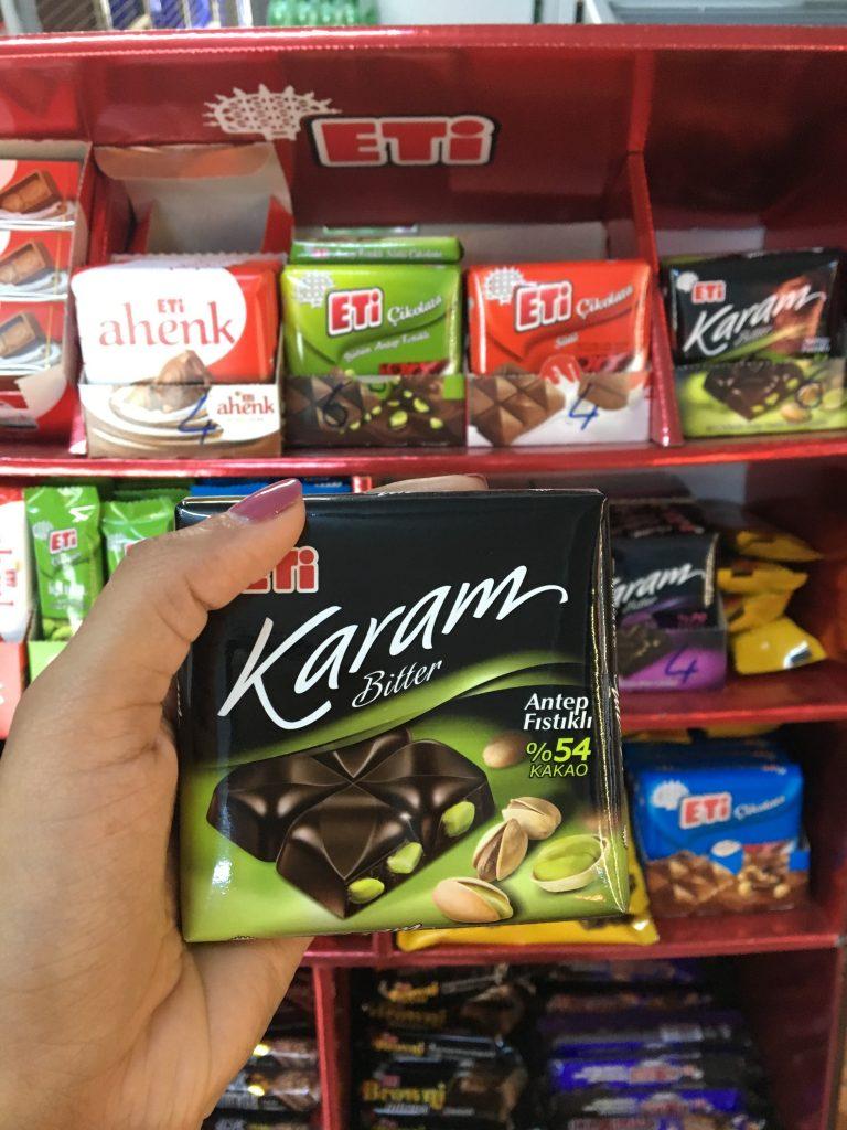 Turkey chocolate brand multilingual packaging
