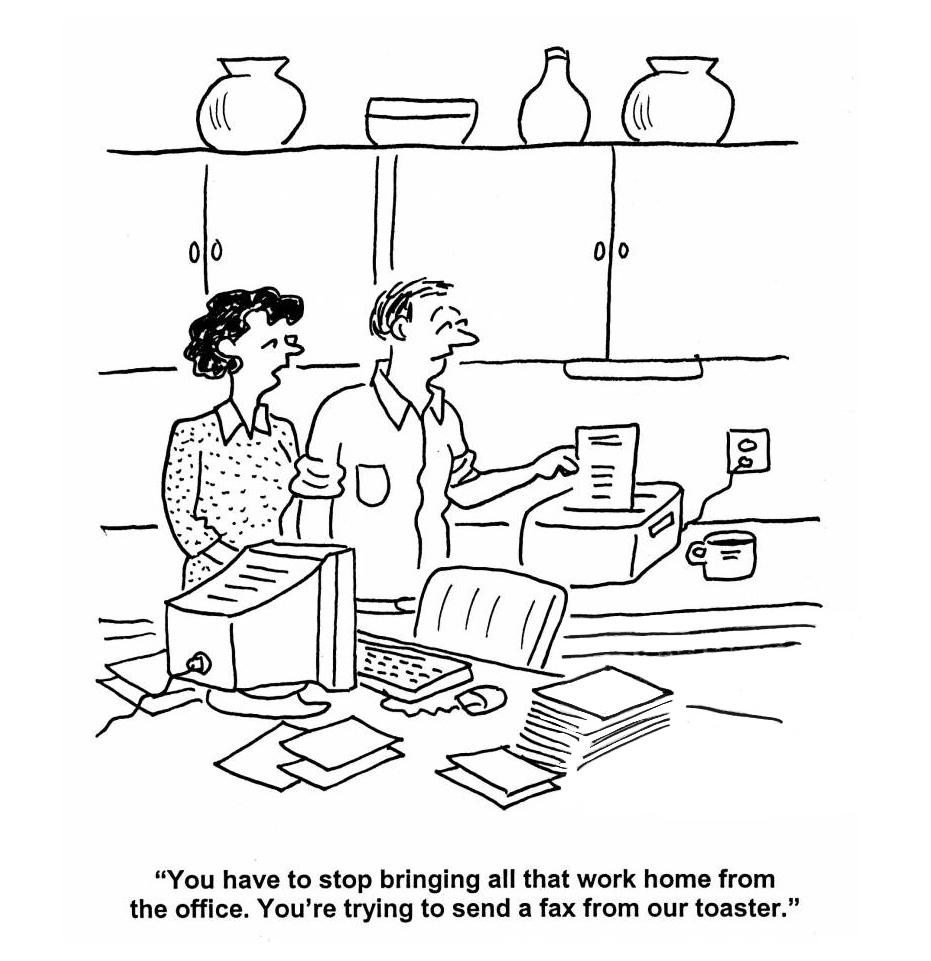 Work-life Balance Comic