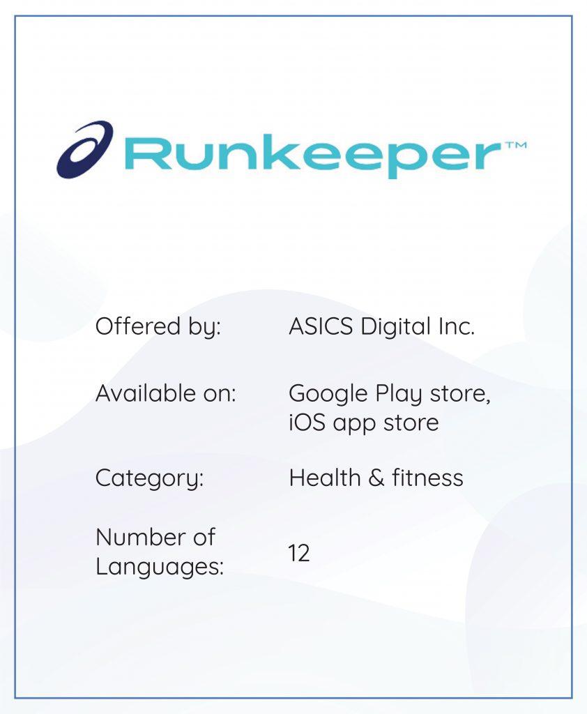 App localization Runkeeper