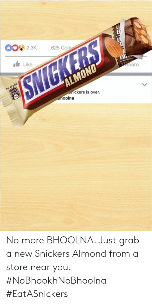 Snickers almond India campaign