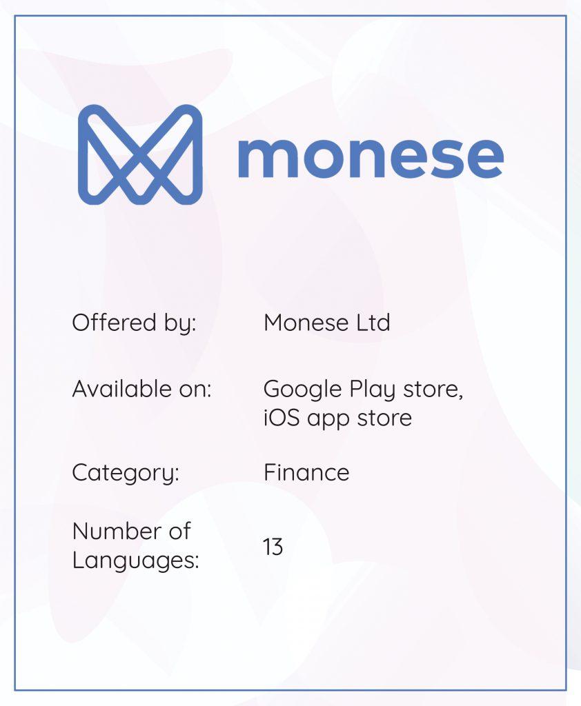 App localization Monese