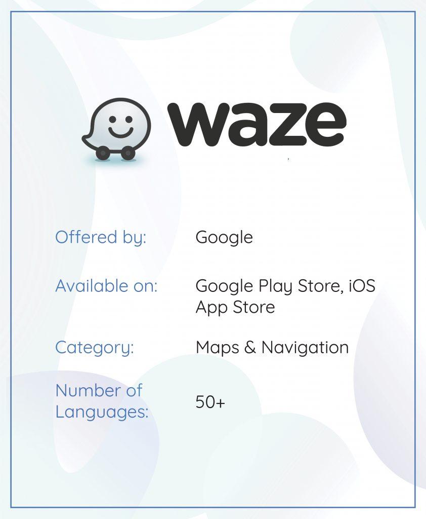 App localization waze