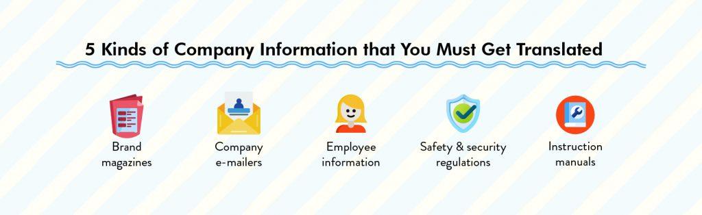 company information translation localization services