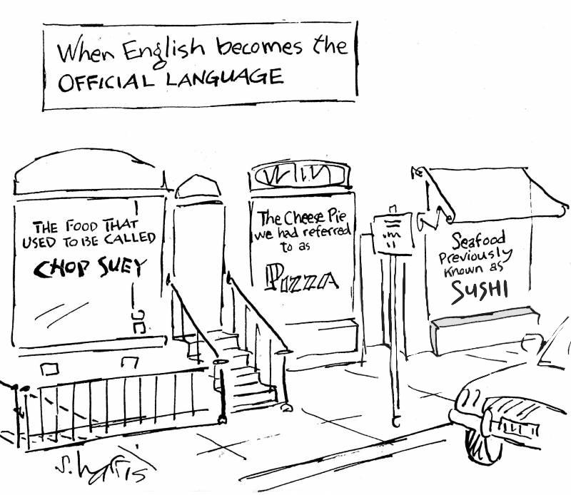 global company official language english
