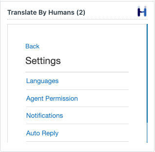 Translate By Humans for Zendesk Auto Reply