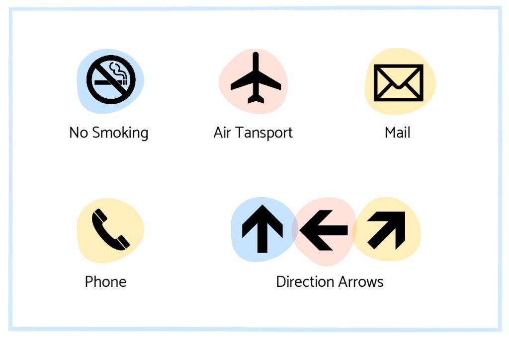 universal symbols design localization