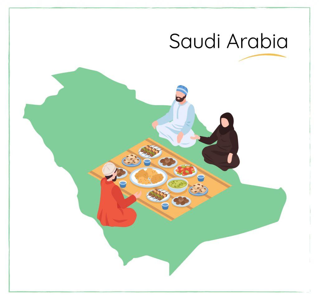 saudi arabia dining etiquette