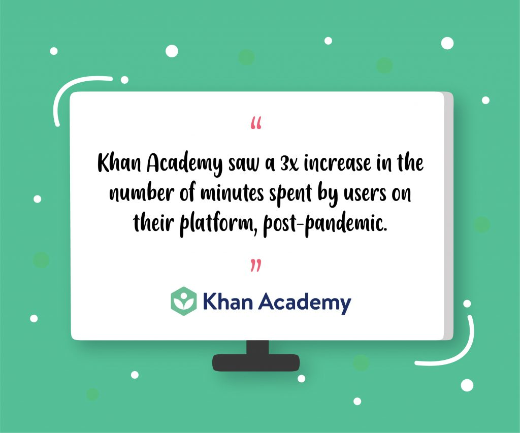 Khan Academy elearning platform pandemic