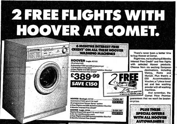 Hoover free flights