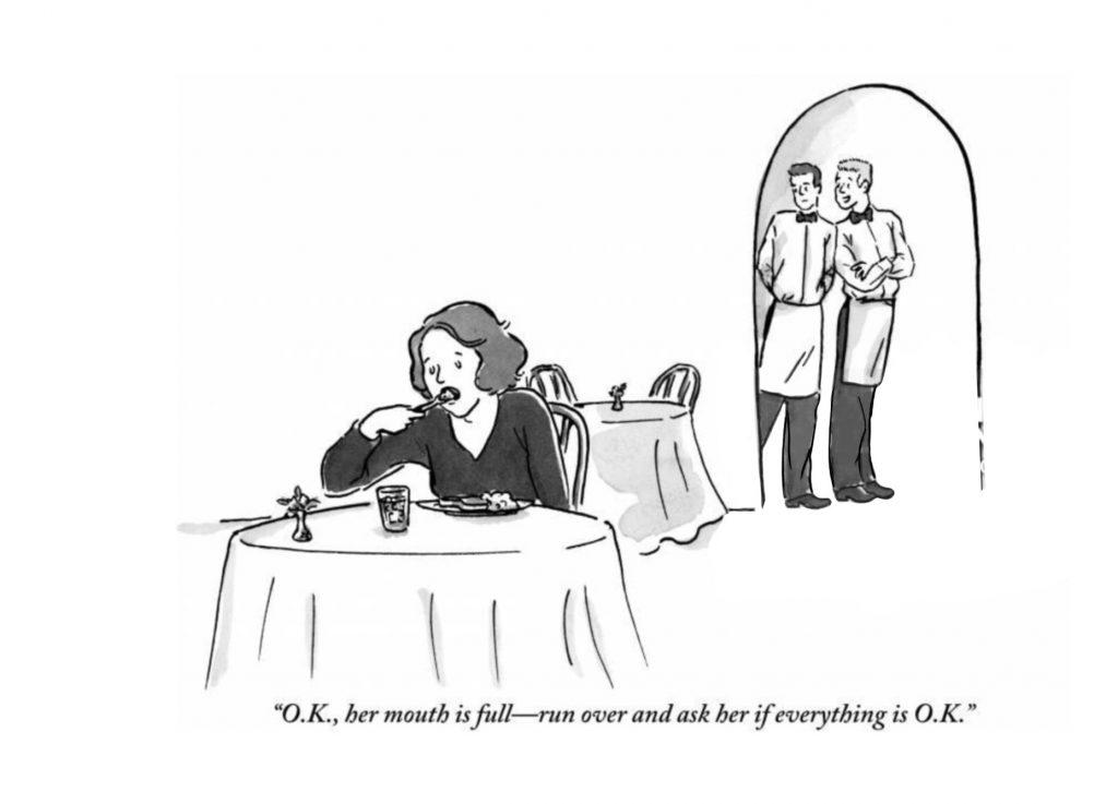 Bad restaurant service comic